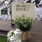 na wejściu - zaproszenie ślubne  w wersji B1